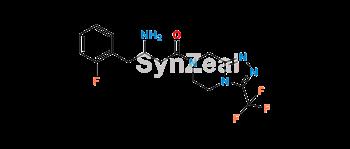 Picture of Sitagliptin Desfluoro Impurity HCl