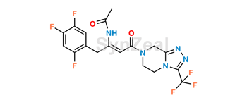Picture of Sitagliptin enamine amide impurity