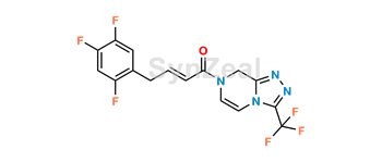 Picture of Sitagliptin impurity N related compound