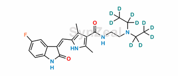 Picture of Sunitinib D10