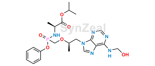 Picture of Tenofovir Alafenamide N-hydroxy methyl impurity