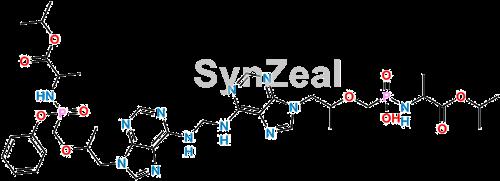 Picture of Des-Phenol Tenofovir Alfenamide+Tenofovir Alafenamide Dimer