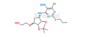 Picture of Ticagrelor Related Compound 17