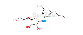 Picture of Ticagrelor Related Compound 32 (DP1)