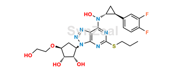 Picture of Ticagrelor Related Compound 33 (DP4)