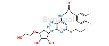 Picture of Ticagrelor Related Compound 34 (DP6)