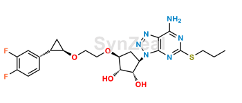 Picture of Ticagrelor Related Compound 35 (DP7)
