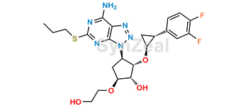 Picture of Ticagrelor Related Compound 37 (DP9)