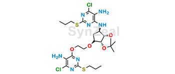 Picture of Ticagrelor Related Compound 39
