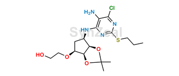 Picture of Ticagrelor Related Compound 92