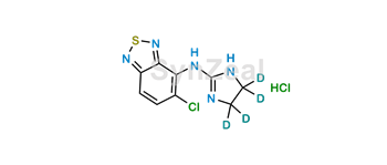 Picture of Tizanidine-d4 HCl