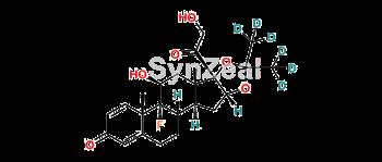 Picture of Triamcinolone Acetonide D6