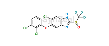 Picture of Triclabendazole Sulfoxide-d3