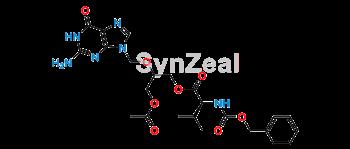 Picture of Valganciclovir O-Acetyl N-Benzyloxycarbonyl Impurity
