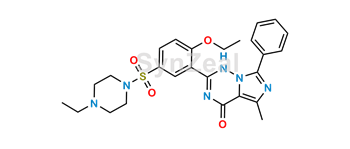 Picture of Vardenafil Benzoyl Impurity