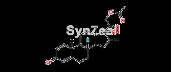 Picture of Δ-9,11-betamethasone 21-acetate