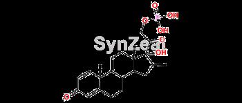 Picture of Δ-9,11-Betamethasone 21-phosphate