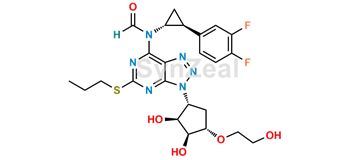 Picture of Ticagrelor N-formyl Impurity