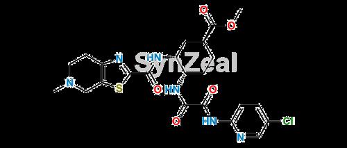 Picture of Edoxaben Cyclohexyl Methyl Ester Impurity