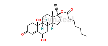 Picture of 6b-10b-dihydroxy-norethisterone enantate
