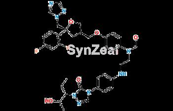 Picture of Desethylene Posaconazole N-Formyl