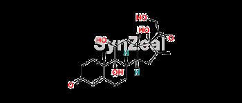 Picture of 1,2-Dihydro Dihydroxy Beclometasone