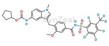 Picture of Zafirlukast m-Tolyl Isomer-d7