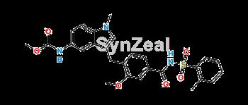 Picture of Decyclopentyl Zafirlukast Methyl Ester