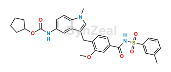 Picture of Zafirlukast m-Tolyl Isomer