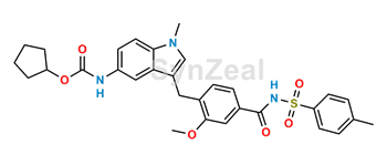 Picture of Zafirlukast p-Tolyl Isomer