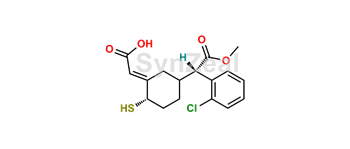 Picture of Clopidogrel thiol metabolite H1