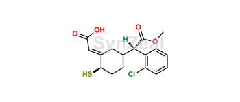 Picture of Clopidogrel thiol metabolite H2