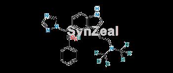 Picture of Rizatriptan-d6 Benzoate