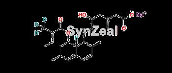 Picture of Lovastatin-d3 Hydroxy Acid Sodium Salt