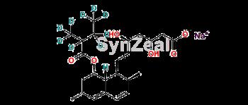 Picture of Lovastatin-d9 Hydroxy Acid Sodium Salt