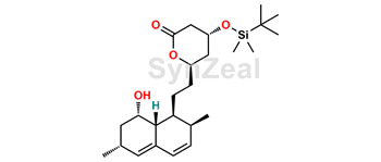 Picture of Lovastatin Diol Lactone 4-tert-Butyldimethylsilyl Ether