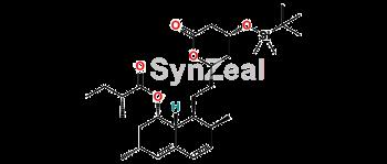 Picture of 4-O-tert-Butyldimethylsilyl Epi Lovastatin