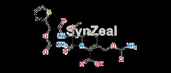 Picture of Carbamoyloxy Cefoxitin Acid