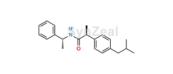 Picture of (R,S)-N-(1-Phenylethyl) Ibuprofen Amide
