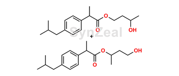Picture of Ibuprofen 1,3-Butylene Glycol Esters (Mixture of Regio- and Stereoisomers)