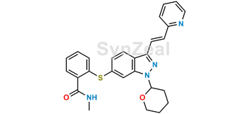 Picture of Axitinib Thio Benzamide Impurity