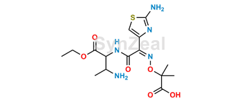 Picture of Aztreonam Open-ring desulfatesaztreonam ethyl ester