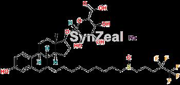 Picture of Fulvestrant-17-glucuronide Sodium salt