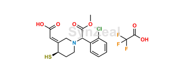 Picture of Clopidogrel Thiol Metabolite H2 Isomer TFA Salt