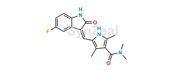 Picture of Sunitinib Dimethyl Amide Analog