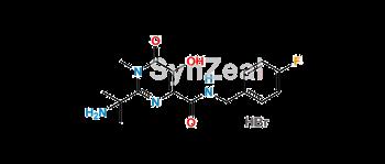 Picture of Raltegravir EP Impurity A Hydrobromide salt