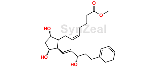 Picture of Bimatoprost Methyl Ester