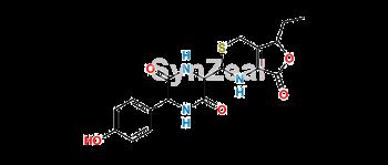 Picture of Hydroxyphenyldiketopiperazine lactone