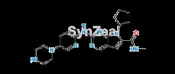 Picture of Ribociclib N-Desmethyl Metabolite Free base