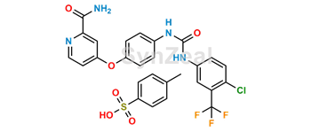 Picture of N-Desmethyl Sorafenib Tosylate
